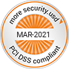 PCI-DSS compliant - MAR-2021 - more security